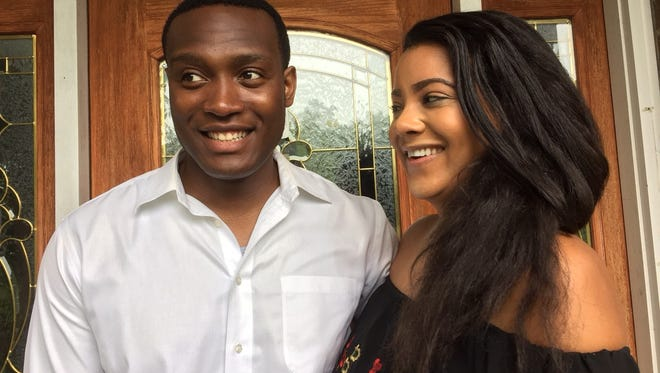 Afam Nwandu and his girlfriend Melanie Milo will be recognized for helping to save members of the Gennaro family along with first responders.