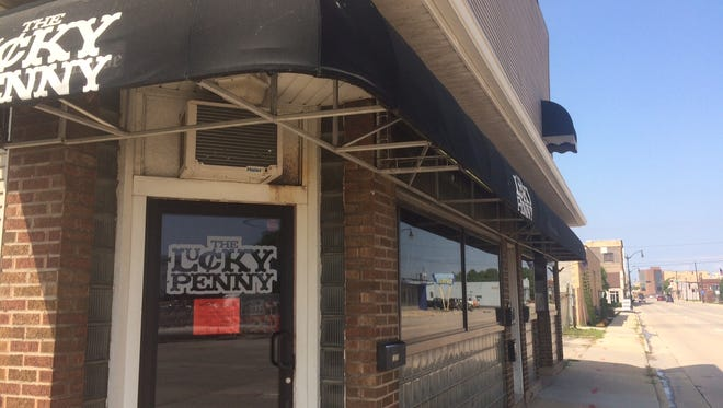 The Lucky Penny, 1029 S. Main St., shut down recently, after failing to pay a Winnebago County Health Department fee.