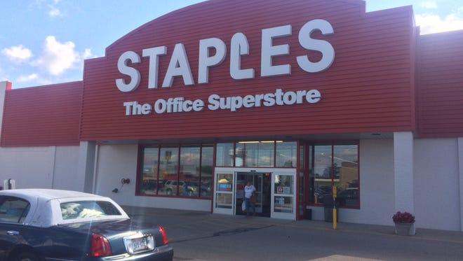 Staples, 1126 S. Koeller St., Oshkosh, plans to close Sept. 16.