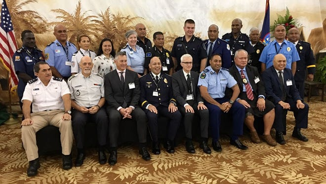 Guam is hosting the 46th Pacific Islands Chief of Police 2017 Conference, which began on Monday, Aug. 28, 2017 at the Hotel Nikko Guam.