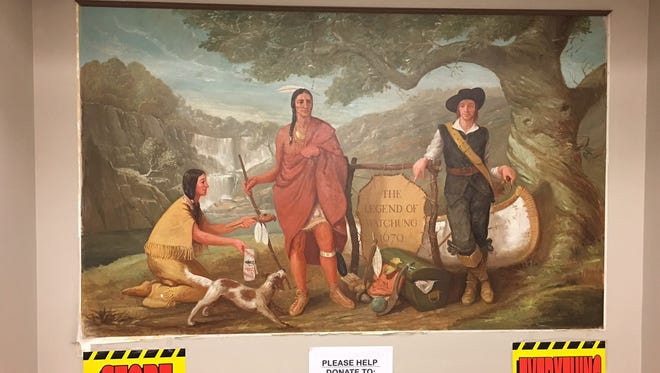 With the store closing in mid-September, the final sales have begun at Sears in Watchung and the campaign to save the iconic mural in the store is in high gear.