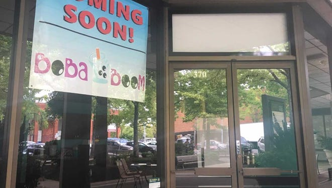 Boba Boom has opened in the Crema Coffee Brewtique location.