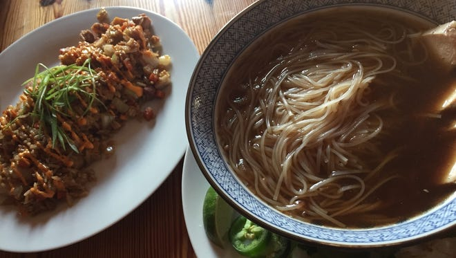 The Landing House serves Chinese- and Cambodian-inspired cuisine.