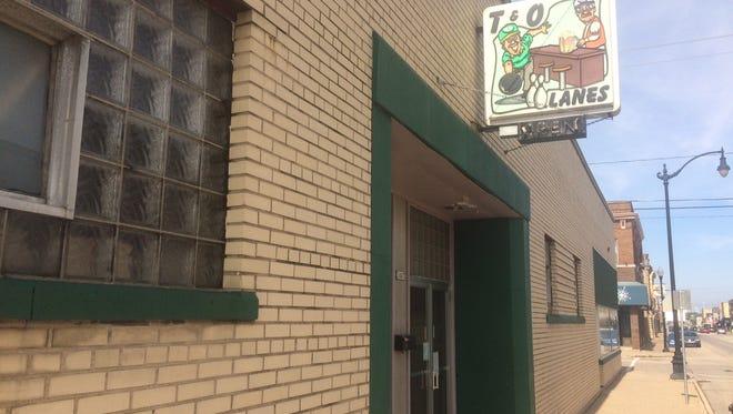 T&O Lanes 1007 Oregon St., has closed its doors.
