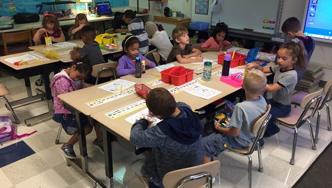 Students at Gallimore Elementary School are part of the collaborative effort that put the school on the 2017 Blue Ribbon list.
