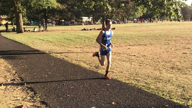 Millburn junior Ramsey Little is one of the top cross-country runners for his school.