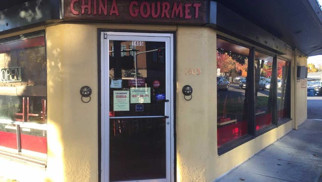 China Gourmet will remain temporarily closed until Nov. 1.