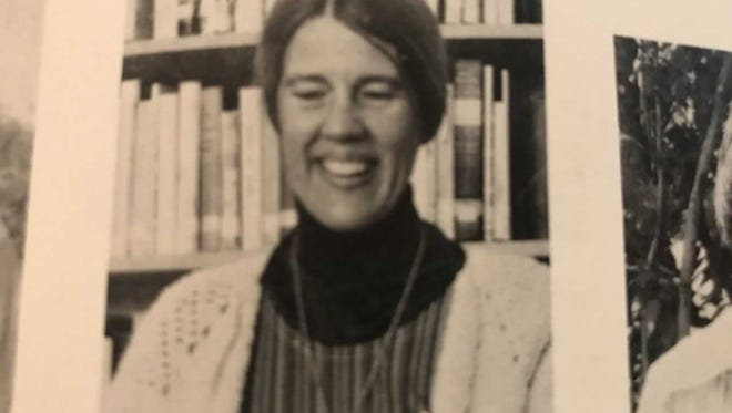 Sister Margaret in a photo in the 1977 Pensacola Catholic High yearbook