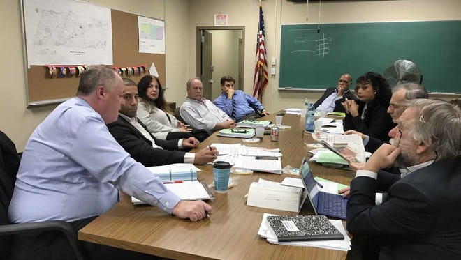 Montclair Township Council member Renee Baskerville, right side, second from the back, will be hosting a Fourth Ward meeting on Jan. 16, 2018 to discuss development, busing and affordable housing issues.