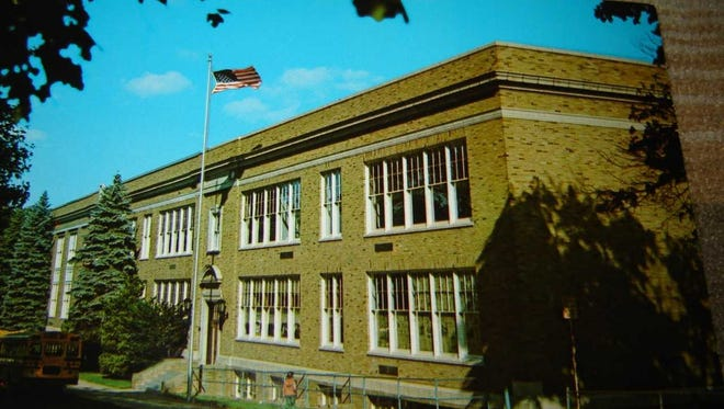 The Butler High School main building on Bartholdi Avenue in Butler was built in 1923 and is an addition to the 1905 original stone building.