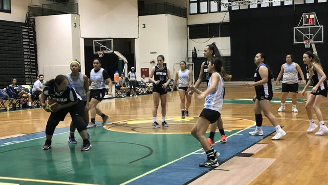 Guam Community College Women's Basketball Team defeated the Royal Basketball Club on Saturday, Feb. 3, 2018.