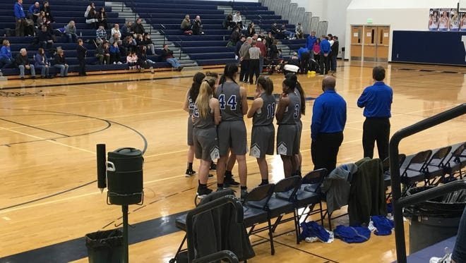 Play was stopped early in the first quarter after a Lakeview player went down with an injury. Medical personnel was called and the game restarted 20 minutes later.