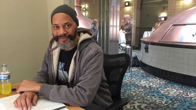 Oscar-winning filmmaker John Ridley is redeveloping a former Pabst brewery building into space to help nurture local filmmakers. He spoke at the Brewhouse Inn & Suites at the former Pabst complex.