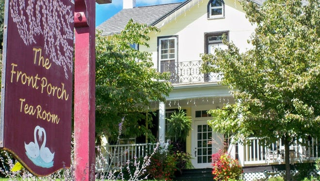 The Front Porch Tea Room, which has attracted visitors from all over the world for the past 18 years, is now up for sale.