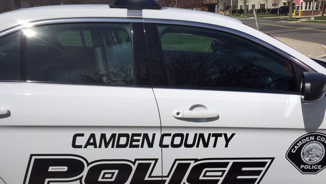 Camden County Police are investigating a shooting that injured four people at a Parkside business.
