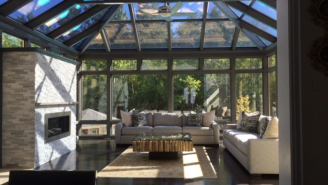 Glass-enclosed sunspaces allow homeowners to comfortably enjoy their property year-round — if it is a multi-season enclosure — providing a unique perspective on nature, plantings, changing weather and the night sky.