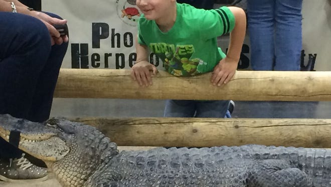 The Predators Reptile Expo will have a petting zoo for kids.
