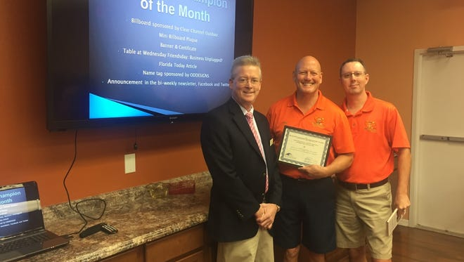 CitruSolution Carpet Cleaning of Brevard, owned by Stuart and Janice Smith, recently was selected by the Cocoa Beach Chamber of Commerce as Business Champion on the Month.