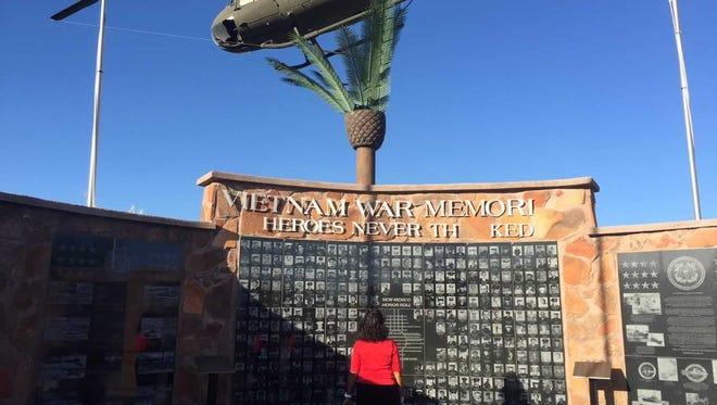 1 000 Reward For Information On Vietnam Memorial Vandalism