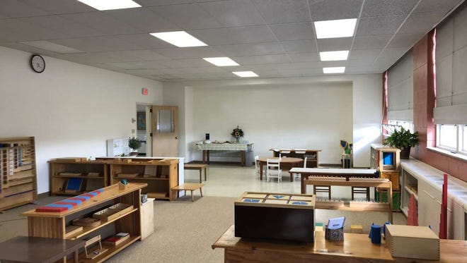 The former St. Anthony Parish School will reopen in fall, with renovated classroom space, as St. Anthony Catholic Montessori School in Menomonee Falls.