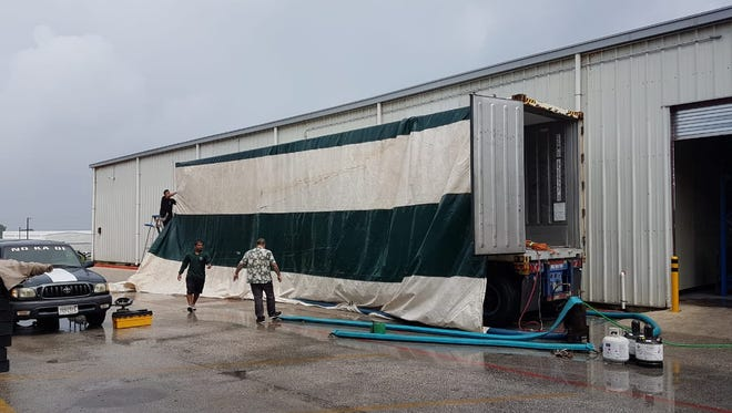 A container of cabbage from South Korea was found to have bugs and Guam Customs and Quarantine treated the container  before the cabbage was released.