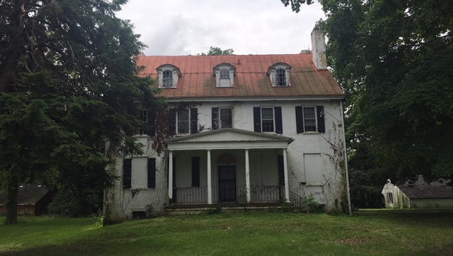 This home on Hoonton Road in Mount Laurel was reportedly built in 1838 by the Hoonton family and is scheduled to be demolished.