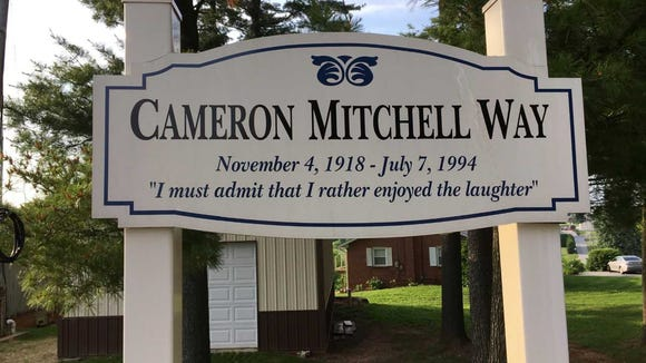 The famed Hollywood actor spent much of his childhood in Shrewsbury, where his father was minister of a church. In recent years, the borough recognized the late actor with this sign.