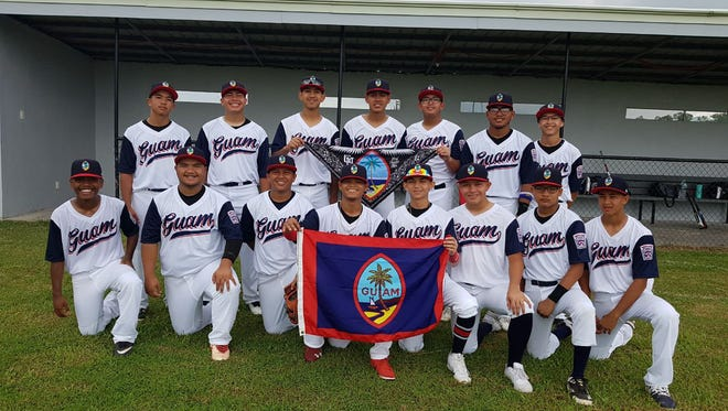 The Guam Senior Little League Baseball All-Stars are shown in this file photo. The team lost 9-2 to the Commonwealth of the Northern Mariana Islands in the Asia-Pacific Regional Championships in the Philippines July 5.