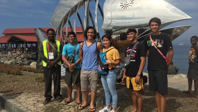 Team Guam got to explore the sights of Papua New Guinea, including the famous fish market, following the Oceania Swimming Championships held late last month.