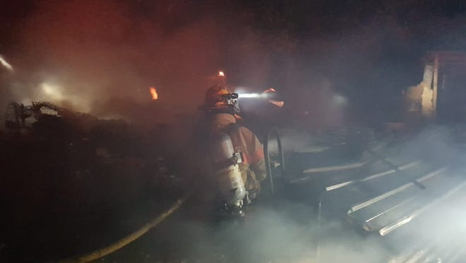 The cause of a fire involving a wood-and-tin structure in Dededo is under investigation by Guam Fire Department.