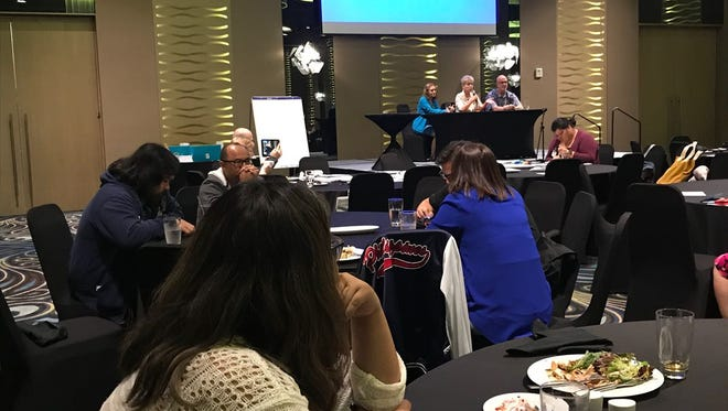 GDOE and private school teachers on Monday began a week-long training program aimed at improving the availability of Pre-AP and AP courses at Guam middle and high schools.