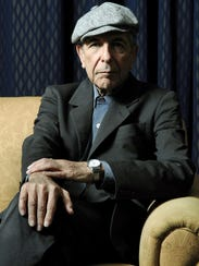 In this Feb. 4, 2006, file photo, Leonard Cohen poses