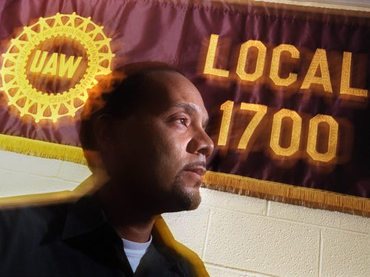 In April 2001, Keith Mickens, the vice-president of the United Auto Workers Union Local 1700 of Detroit, is preparing for the Labor Notes conference at Cobo Hall.