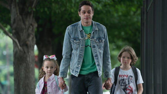 "Pete Davidson in a still from ""The King of Staten Island"""