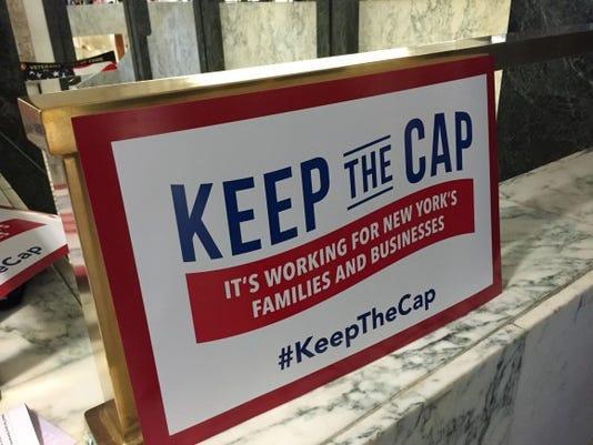Tax Cap Poster