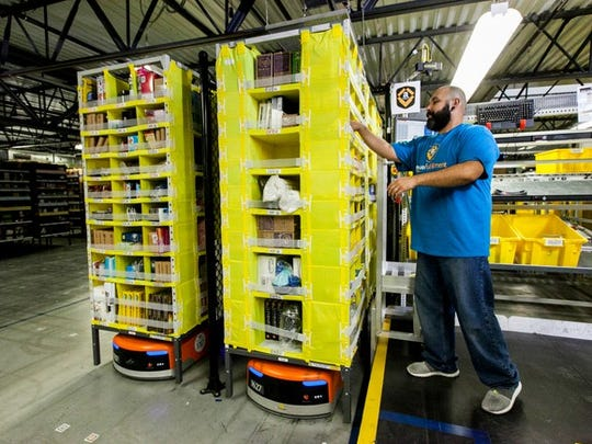 Amazon has invested heavily in its warehouse operations