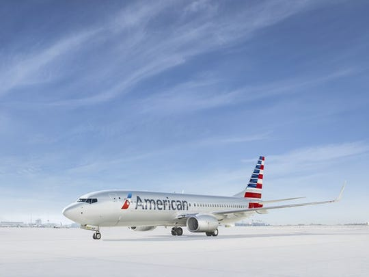 An American Airlines 737 MAX.