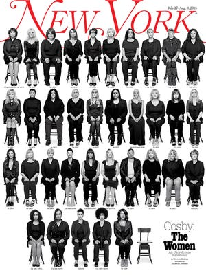 35 women who have accused Bill Cosby of sexual assault posed for the most recent cover of New York magazine.