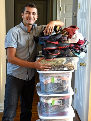 Zachary Wolfson is the founder of Threads of Care, which collects clothes for teens in need. Wolfson is a student at Franklin High School.