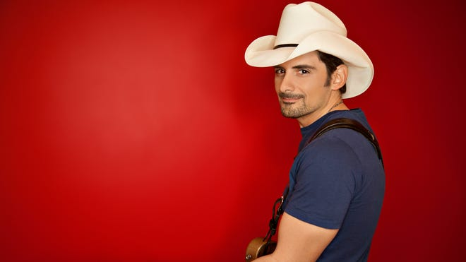 """Brad Paisley releases his new album, """"Moonshine in the Trunk,"""" Aug. 25 on Sony Music, but has been leaking previews online."""