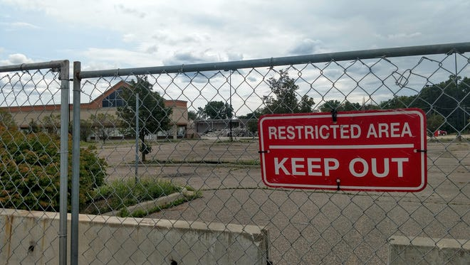 Demolition of the former Farmer Jack on Seven Mile in Livonia began in late August. The buildings have been removed and will eventually be replaced with an LA Fitness and other businesses.