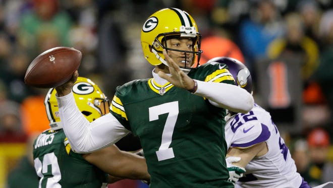 The Packers are 3-5 with Brett Hundley as the starting quarterback this season.