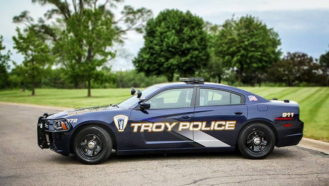 Troy Police vehicle