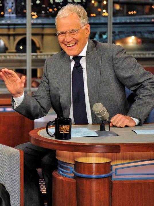 TV Letterman Retirement