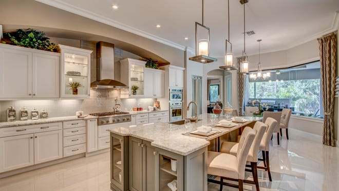 Emerald Homes' Ventalo model, which features an open gourmet kitchen, is priced at $989,187, unfurnished.