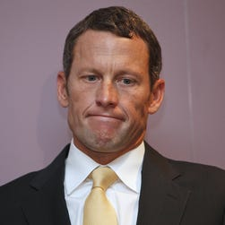 Lance Armstrong through the years