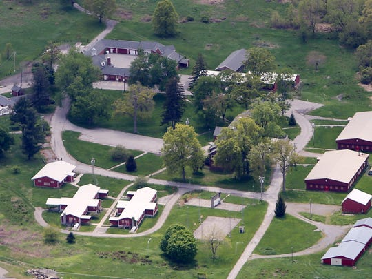 The Beacon Correctional Facility is seen in this aerial
