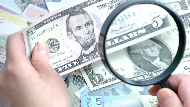 Lafayette police suspect a sudden surge in counterfeit bills in the area is all related.