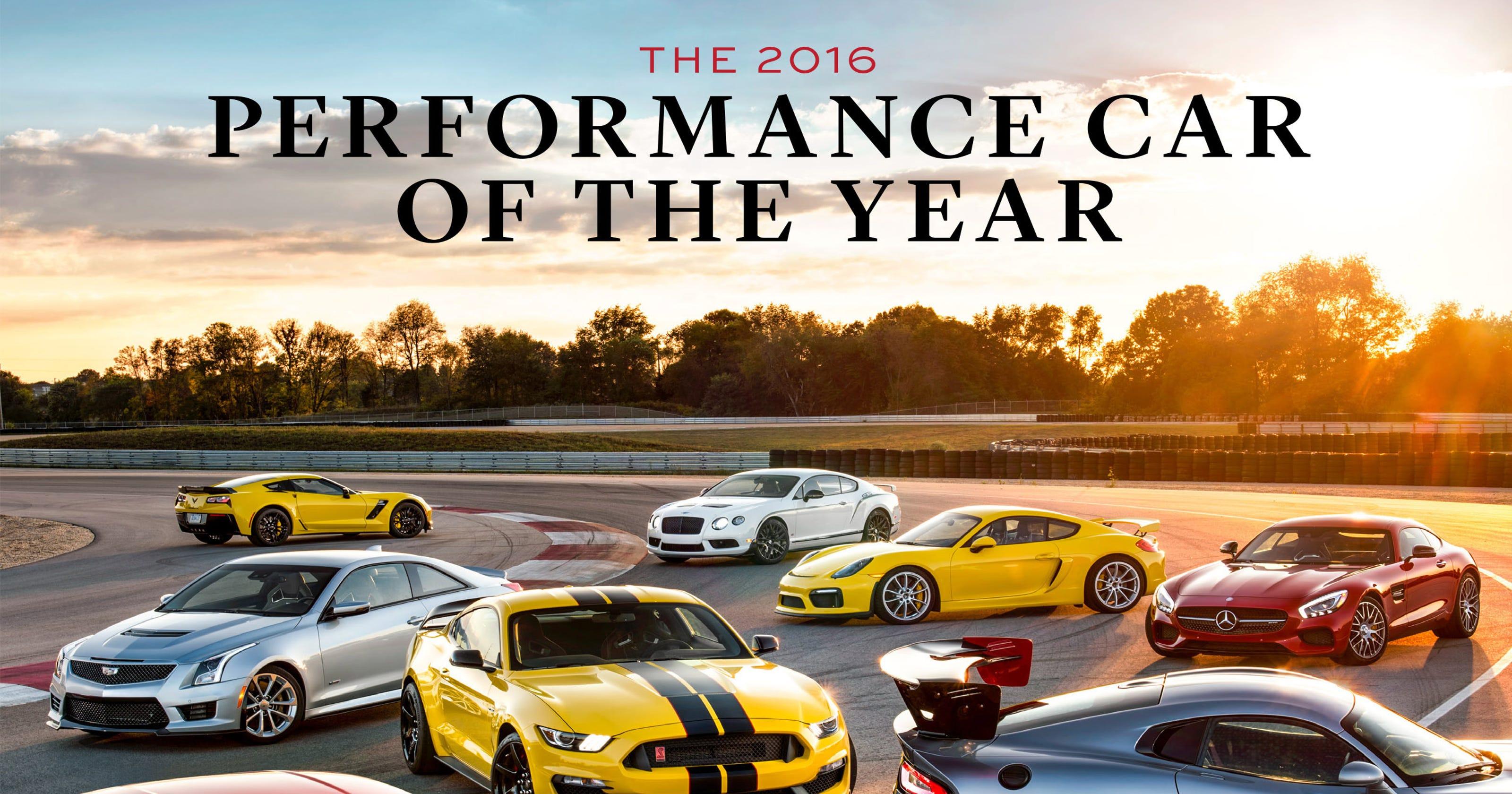 Pay Roadandtrack Com >> Detroit 3 Dominate Road Track Performance Car Contest