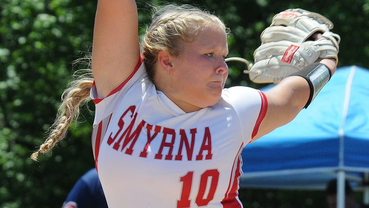 Ace for state softball champion Smyrna, Jessica Anderson, is player of the year